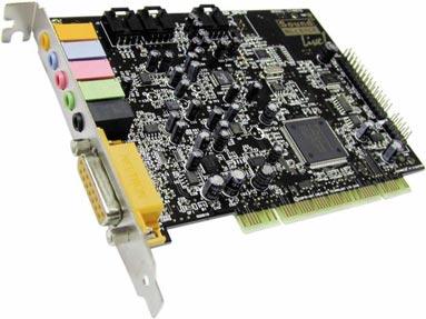 La SoundBlaster Live! una de las mejores y clásicas tarjetas de sonido PCI