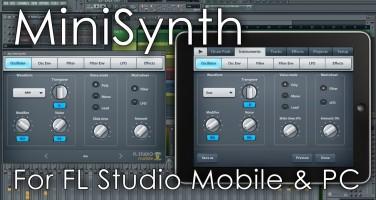 MiniSynth para FL Studio en versión beta