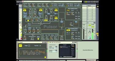 Previo del nuevo sintetizador Pulsor para Max For Live