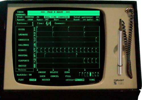 El primer software secuenciador del mundo. El abuelo... El page R
