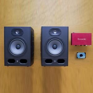 monitores-estudio-focal-alpha-tarjeta-sonido-interface-scarlet-curso-escuela-kit-precio