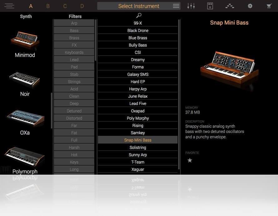 Syntronik Free por IK Multimedia - mejores VST gratuitos