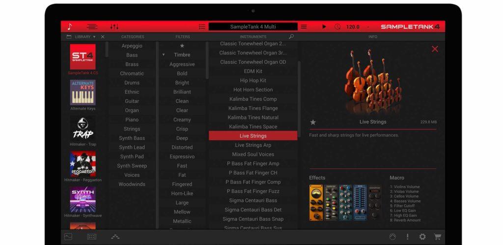 Sampletank CS por IK Multimedia - mejores VST gratuitos