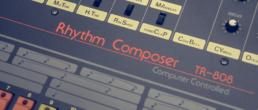 Canciones hechas con la Roland TR-808