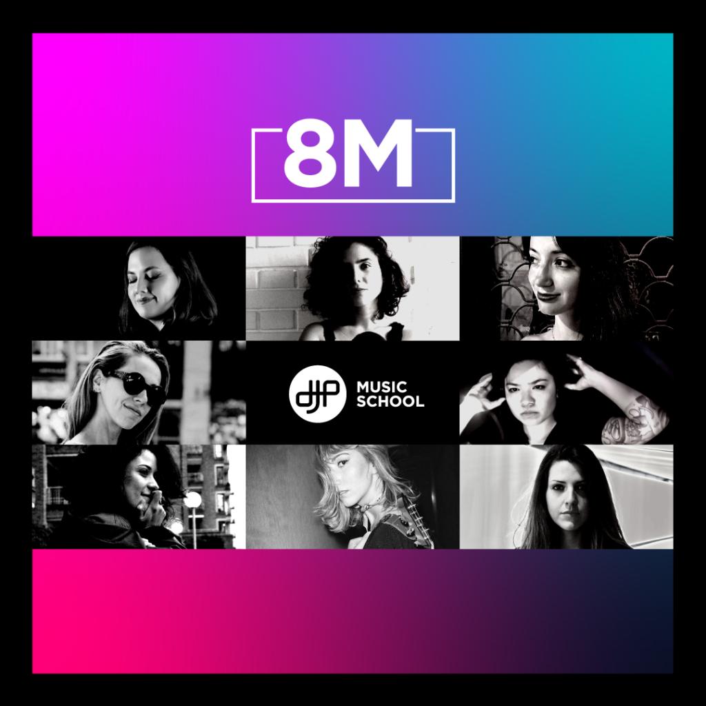 8M día de la mujer, carreras musicales de productoras musicales