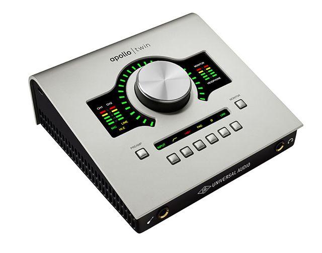 Interfaz de audio: Universal Audio UAD Apollo Twin X